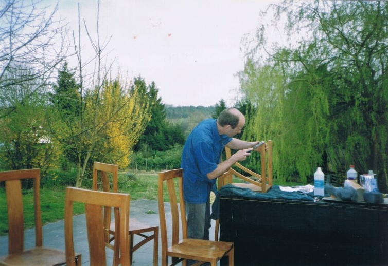 Fabrication chaises
